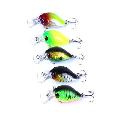 Sea Fishing Boxed Simulation Fish Hard Bait 5Pcs