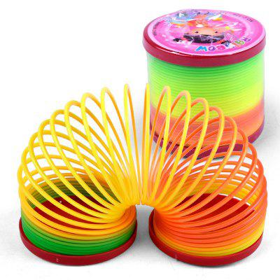 Creative Classic Rainbow Circle Jenga Toys 5PCS open circle skinny ring pack 5pcs