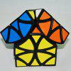 Butterfly Helicopt Magic Cube Curvy Copter Speed Puzzle - NEGRO