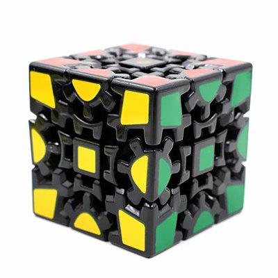 Elstey Magic Kombination 3D Getriebe Cube Generation Black Painted Stickerless