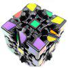Elstey Magic Combination 3D Gear Cube Generation Black Painted Stickerless - ZWART