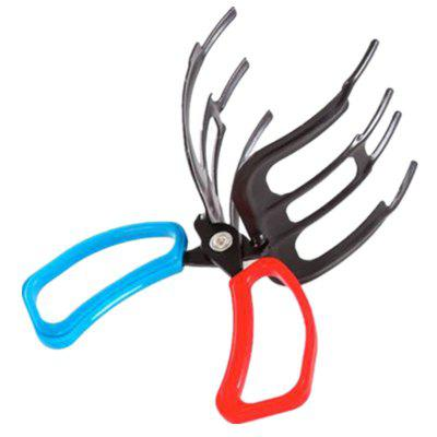 Double Tooth Metal Clamp Control Forceps Catch Fish Gear and Fishing Accessories