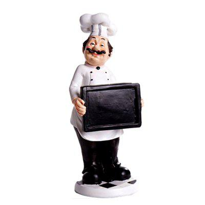 Фото Fashion Home Decor Resin Crafts Chef Ornament