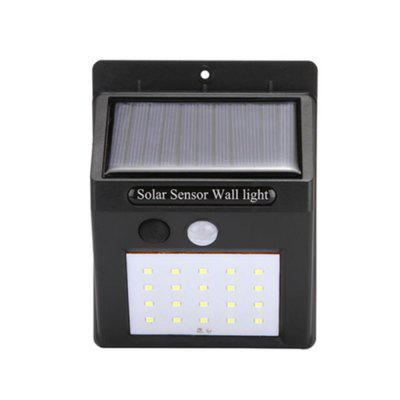 OMTO Solar Outdoor Lampada da parete a LED Night Security Lampadina Street Garden Lights