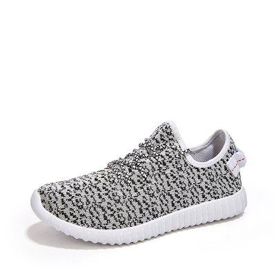 ZEACAVA Summer Authentic Mesh Fly Woven Breathable Running Trend Coconut Shoes sneakers women trainers breathable print flower casual shoes woman 2018 summer mesh low top shoes zapatillas deportivas