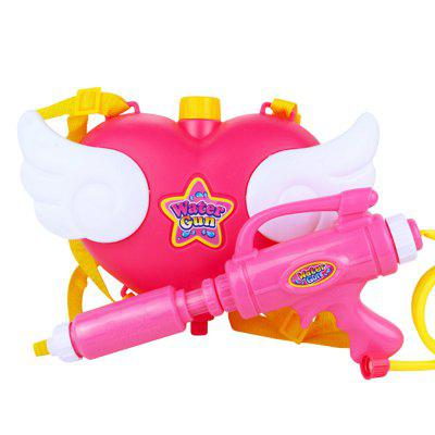 Love Backpack Water Gun Nozzle Summer Fun Toy