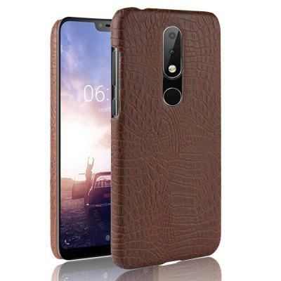 Luxury Crocodile Grain Hard PC Case for Nokia X6