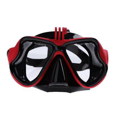 Underwater Camera Plain Diving Mask Swimming Glasses for GoPro Action Camera