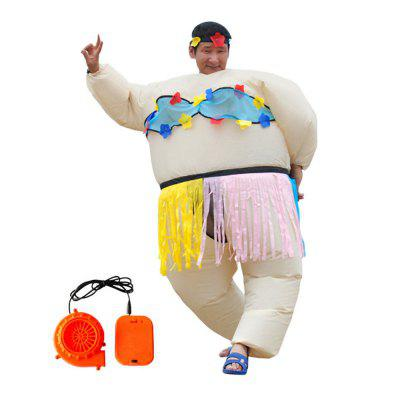 Inflatable Adult Sumo Wrestler Wrestling Suits Halloween Costume  sc 1 st  GearBest & Inflatable Adult Sumo Wrestler Wrestling Suits Halloween Costume ...