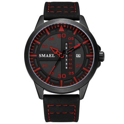 Smael 1315 Multifunction Waterproof Calendar Outdoor Sport Quartz Watch