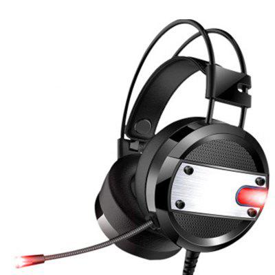 LED Lights Gaming Headset 3.5mm Over-Ear Stereo with Mic for PS4 / Xbox One / PC 2017 top game headphones professional headset super bass over ear gaming with microphone stereo headphones for gamer pc computer