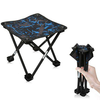 Mini Outdoor Camping Portable Folding Stool folding stool portable simple bathroom small round stool home bench stool thick plastic folding chair outdoor fishing stool