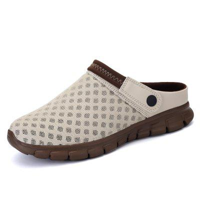 Water Sandals Ligh Adult Air Male Breathable Half Soft Shoes