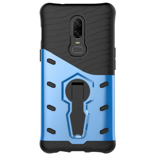 uk availability 08806 0051f Cover Case for OnePlus 6 Shockproof Rugged Armor Hybrid 360 Stand