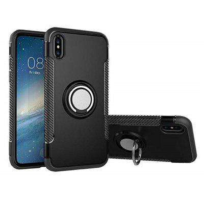 Anti Dust Ring Stand Case for iPhone X