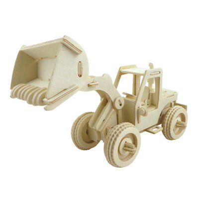 3D Wood Educational  Children Adults Fork Lift Puzzles