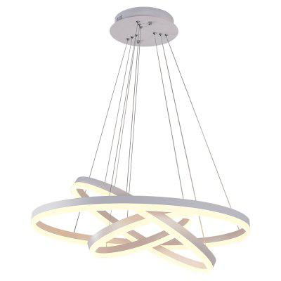 Three-Circle Circular LED Chandelier Pendant Light for Living Room Restaurant mlt r304 drum chip for samsung sl m4583fx sl m4583 reset laser printer cartridge chip