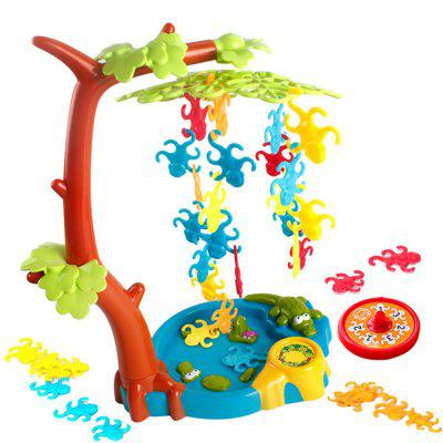 Board Game Balancing Game with Monkeys Hanging in a Tree Toy the hanging tree