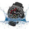 Smael 1325 Multifunction Waterproof Sport Quartz Electronic Watch - BLACK