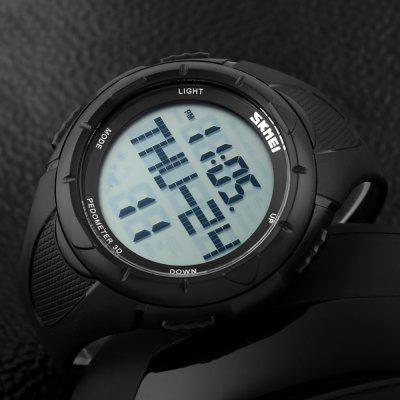 SKMEI Fashion Large Dial Multi Function Men's 3D Step Outdoor Electronic Watch