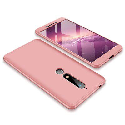 Case for Nokia 6 2018 Shockproof Ultra-thin Full Body Cover Solid Hard PC