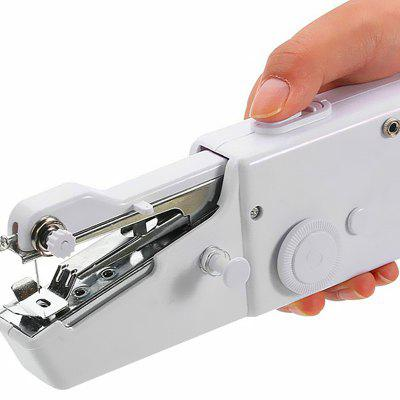 Portable Handy Stitch Battery Power Handheld Sewing Machine Reviews Simple Handheld Sewing Machine Reviews