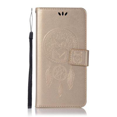 HTC X10 Owl Dandelion Embossed Protective Shell