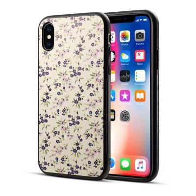 Voor IPHONE X Printing Stick Phone Protective Shell