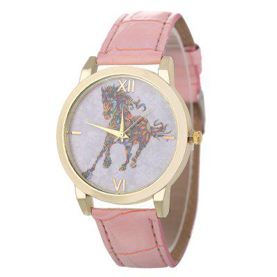New Fashion Lady Overbearing General Horse Quartz Wrist  Watch