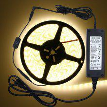 ZDM Waterproof 5M 300x5050 LED Strip Light 3A Power Adapter Dimmer Switch
