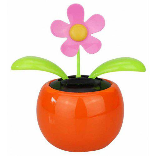 97d7c6765 Flip Flap Solar Powered Flower Flowerpot Swing Dancing Toy