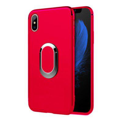 Ring Buckle Bracket Brand Cover Case for iPhone X