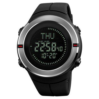 SKMEI Fashion Sports Men Compass Outdoor Countdown Alarm Orologi digitali