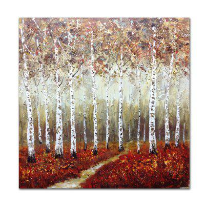 STYLEDECOR Modern Hand Painted Color Path  Oil Painting on Canvas
