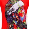 Men's Summer Print 3D Loose Short-Sleeve T-Shirt - MULTI-A