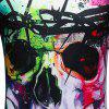 Men's Short Sleeve Summer Print 3D Personality T-Shirt - MULTI-A