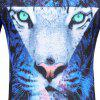 Men's Short Sleeve Summer Print 3D Personality T-Shirt - MULTI-B