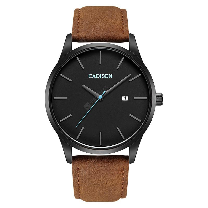 CADISEN C2021 Men's Business Contracted Belt Watch