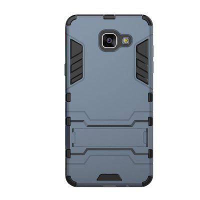 Case for Samsung A5 2016 with Stand Back Cover Solid Colored Hard PC Material