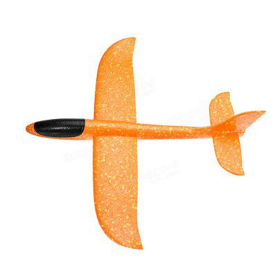 Hand-throwing Foam Glider Color Revolving Children Model Aircraft Toy