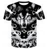 Men's 3D Summer Short-Sleeved Digital Print T-Shirt - MULTI-B