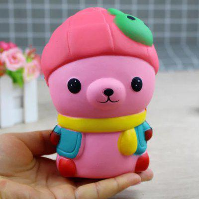 Jumbo Squishy Bear with Rabbit Hat Toys