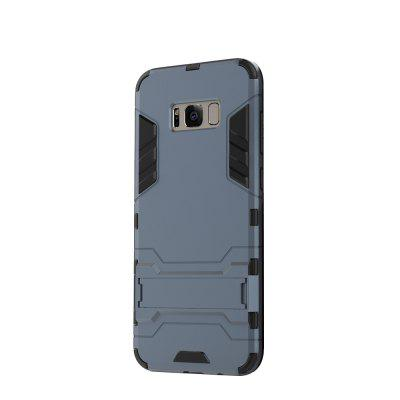 Case for Samsung S8 Plus with Stand Back Cover Solid Colored Hard PC