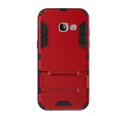 Case for Samsung A3 2017 with Stand Back Cover Solid Colored Hard