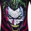 Summer Men's Short Sleeve Digital Print Clown 3D Loose T-Shirt - MULTI-D