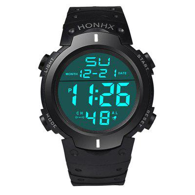 Fashion Top Brand Luxury Unisex Dolphin Candy Color Led Digital Silicone Band Casual Sports Wrist Watch Watches