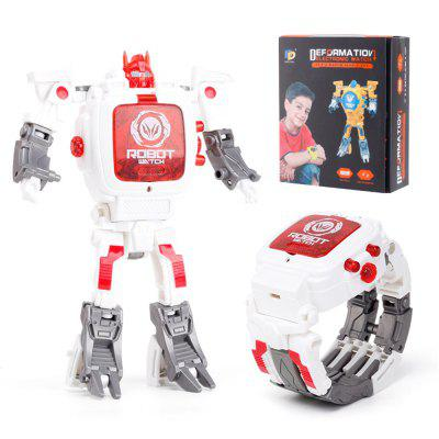 Kinder Transformers Rescue Bots Spielzeug 2 in 1 Digital Robot Watch