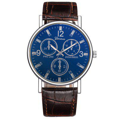 Geneva Man Fashion Business Quartz horloge
