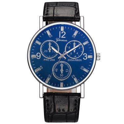 Geneva Men Business Quartz Leisure Watch
