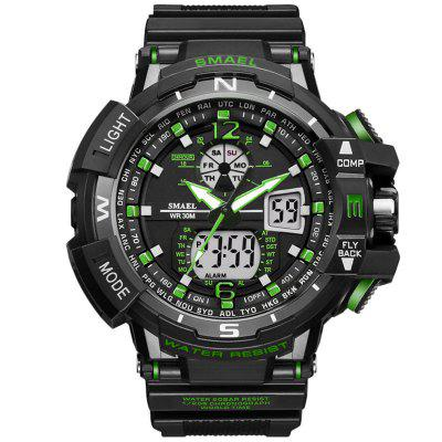 Reloj de pulsera digital SMAEL Luxury Brand Men Digital Relojes